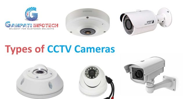 what is cctv camera and what are the types